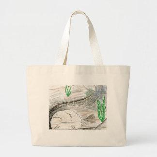 Winning artwork by B. Bailey, Grade 6 Large Tote Bag