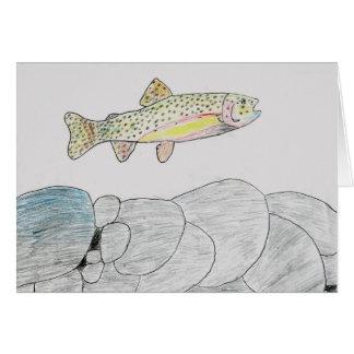 Winning artwork by B. Frye, Grade 6 Card