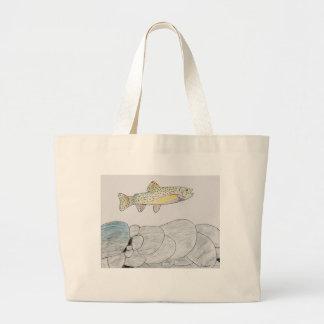 Winning artwork by B. Frye, Grade 6 Large Tote Bag