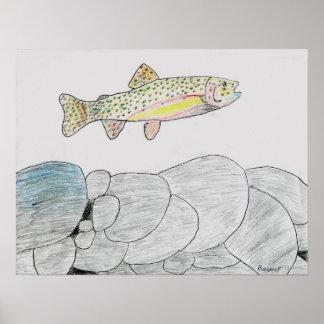 Winning artwork by B. Frye, Grade 6 Poster