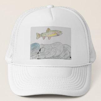 Winning artwork by B. Frye, Grade 6 Trucker Hat