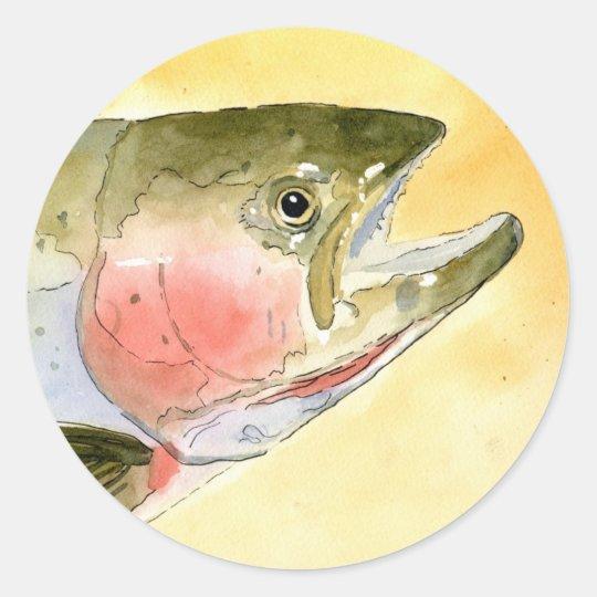Winning artwork by C. Collingsworth, Grade 5 Classic Round Sticker