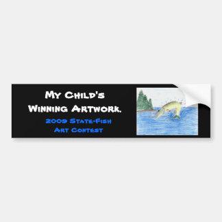 Winning artwork by C. Dahlen, Grade 7 Bumper Sticker