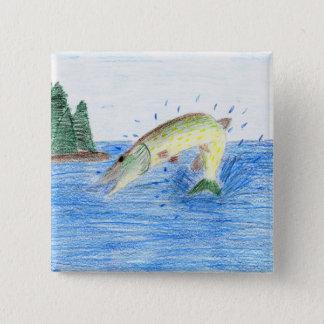 Winning artwork by C. Dahlen, Grade 7 Pinback Button
