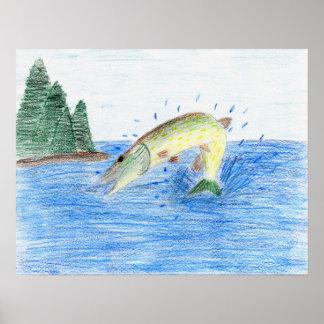 Winning artwork by C. Dahlen, Grade 7 Posters