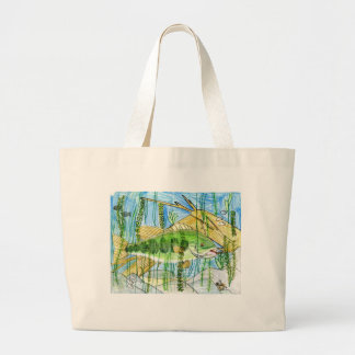 Winning artwork by C. Durler, Grade 6 Large Tote Bag