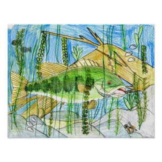 Winning artwork by C. Durler, Grade 6 Poster