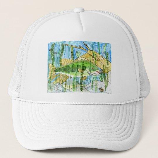 Winning artwork by C. Durler, Grade 6 Trucker Hat