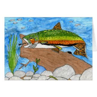 Winning artwork by C. Freshour, Grade 6 Card