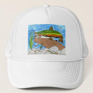 Winning artwork by C. Freshour, Grade 6 Trucker Hat