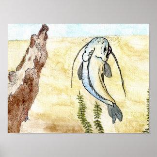 Winning artwork by C. Hagan, Grade 5 Poster