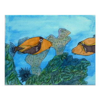 Winning artwork by C. Kaaikaula, Grade 8 Poster