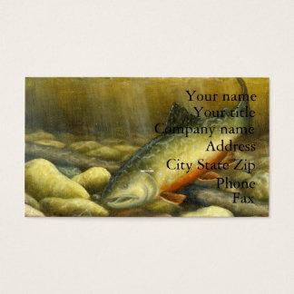 Winning artwork by C. Mowery, Grade 10 Business Card