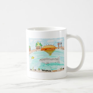 Winning artwork by C. Rousseau, Grade 4 Coffee Mug