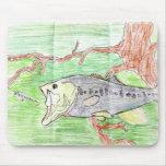 Winning artwork by C. Spencer, Grade 7 Mouse Mat