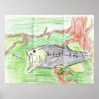 Winning artwork by C. Spencer, Grade 7 Posters