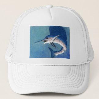 Winning artwork by C. Vetters, Grade 9 Trucker Hat