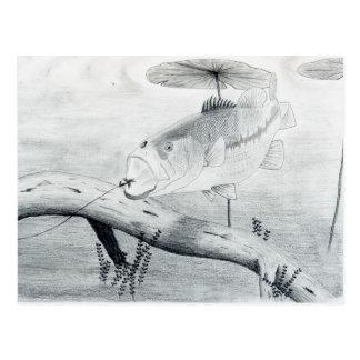 Winning artwork by C. Yates, Grade 6 Postcard