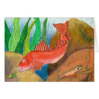 Winning artwork by D. Gutierrez, Grade 8 Card