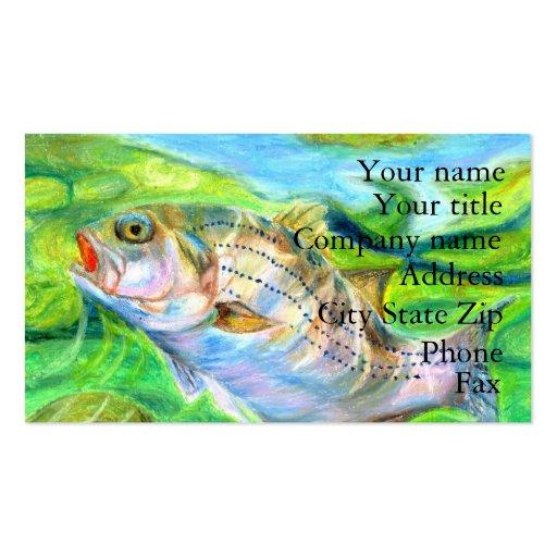 Winning artwork by D. Seo, Grade 6 Business Cards