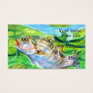 Winning artwork by D. Seo, Grade 6 Business Card