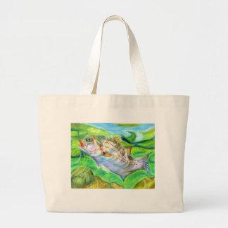 Winning artwork by D. Seo, Grade 6 Large Tote Bag