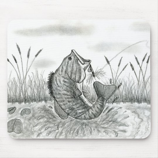 Winning artwork by D. Weaver, Grade 8 Mouse Pad