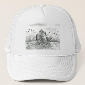 Winning artwork by D. Weaver, Grade 8 Trucker Hat