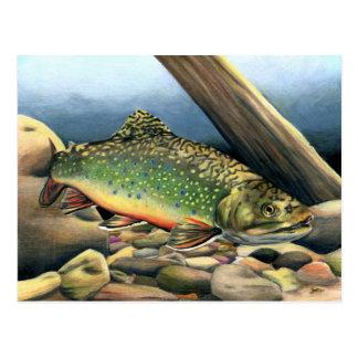 Winning artwork by E. Argot, Grade 11 Postcard