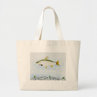 Winning artwork by E. Branton, Grade 5 Large Tote Bag