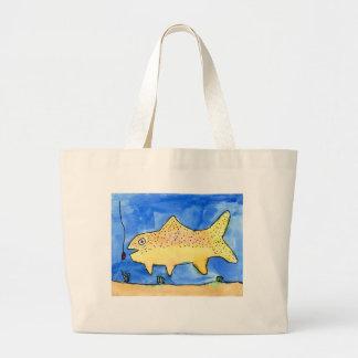 Winning artwork by E. Gardner, Grade 4 Large Tote Bag