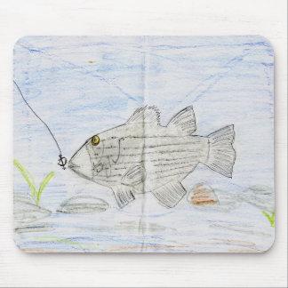 Winning artwork by E. McKinney II, Grade 4 Mouse Pad