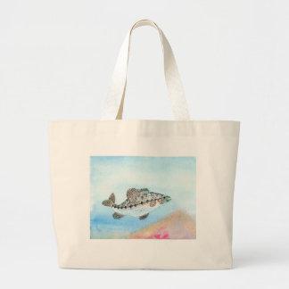 Winning artwork by E. Saliga, Grade 5 Large Tote Bag