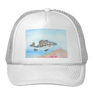 Winning artwork by E. Saliga, Grade 5 Trucker Hat