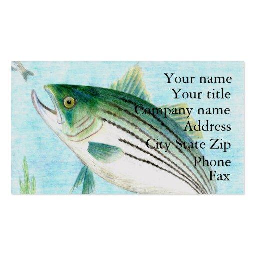 Winning artwork by E. Vance, Grade 8 Business Card Template
