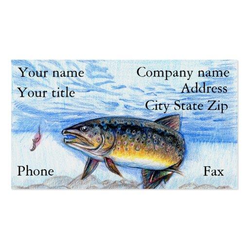 Winning artwork by E. Zhang, Grade 6 Business Card Template