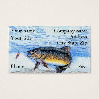 Winning artwork by E. Zhang, Grade 6 Business Card