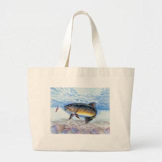 Winning artwork by E. Zhang, Grade 6 Large Tote Bag