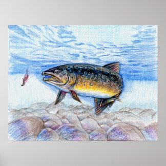 Winning artwork by E. Zhang, Grade 6 Poster