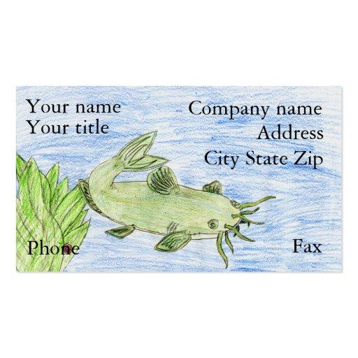 Winning artwork by G. Wittenburg, Grade 6 Business Card Template