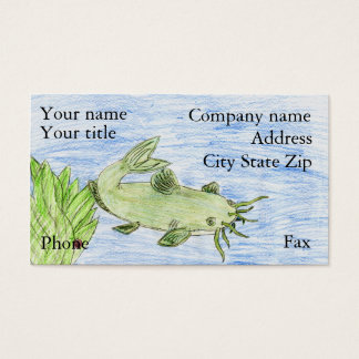 Winning artwork by G. Wittenburg, Grade 6 Business Card