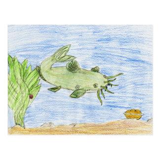 Winning artwork by G. Wittenburg, Grade 6 Postcard