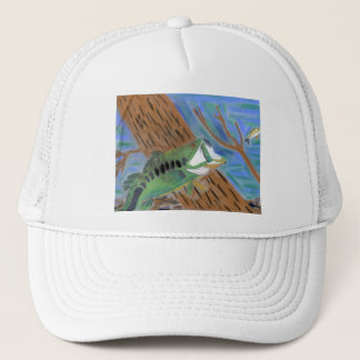 Winning artwork by H. Harp, Grade 4 Trucker Hat