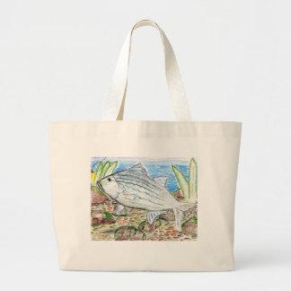 Winning artwork by J. Florida, Grade 6 Large Tote Bag