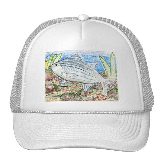 Winning artwork by J. Florida, Grade 6 Trucker Hat