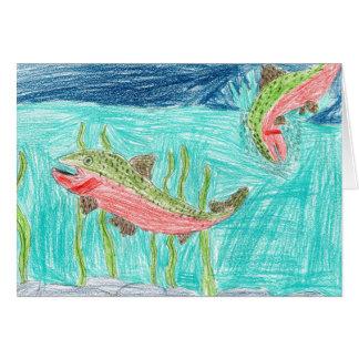 Winning artwork by J. Vaughan, Grade 4 Card
