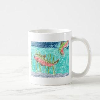Winning artwork by J. Vaughan, Grade 4 Coffee Mug