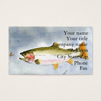 Winning artwork by K. Collinsworth, Grade 7 Business Card
