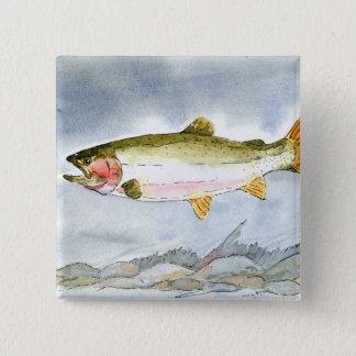 Winning artwork by K. Collinsworth, Grade 7 Pinback Button