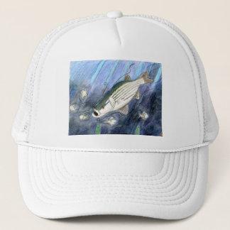 Winning artwork by K. Dumont, Grade 6 Trucker Hat